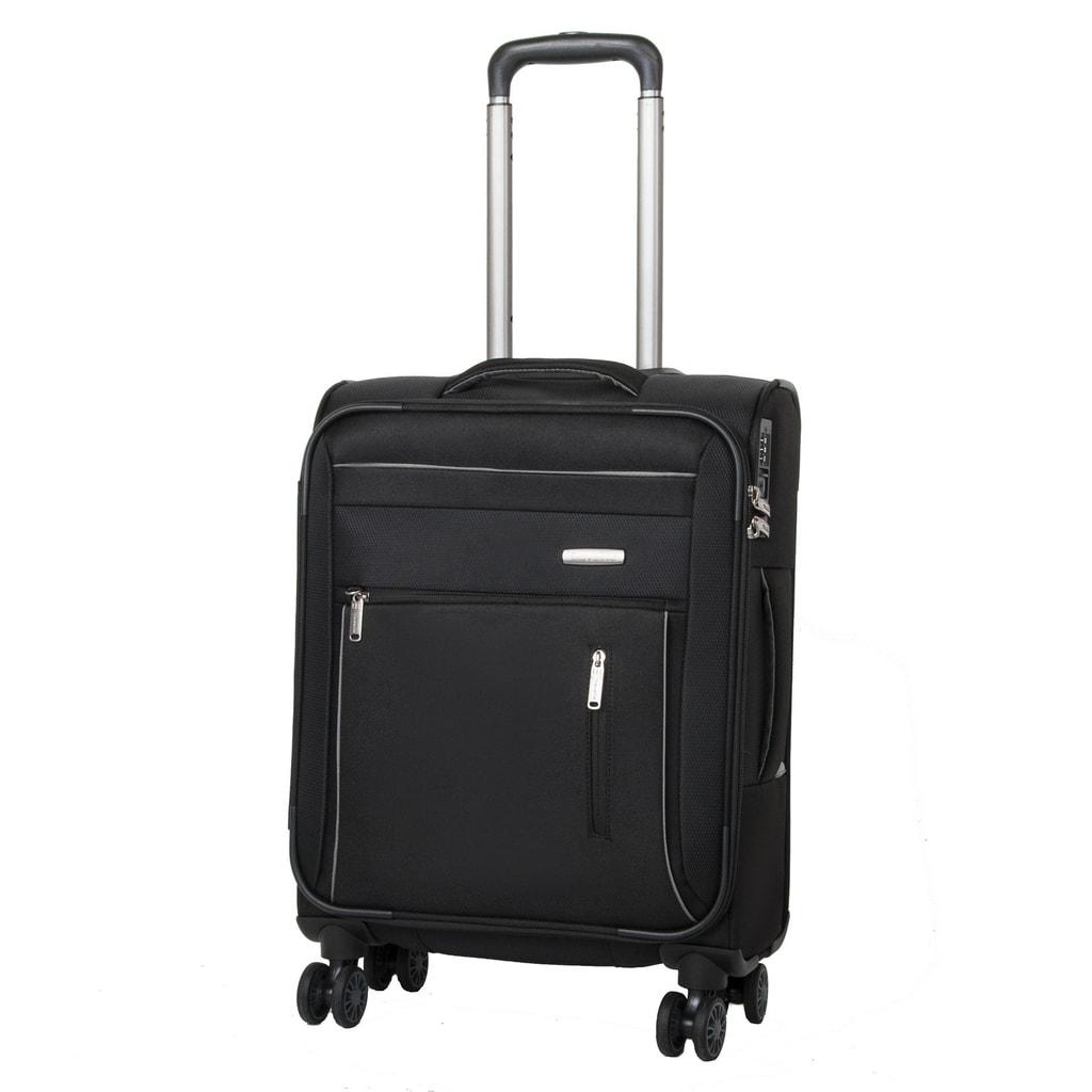 Travelite Kabinový cestovní kufr Capri 4w 38 l - černá