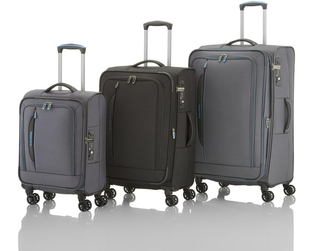 Travelite Travelite CrossLITE 4w S,M,L + BB Anthracite