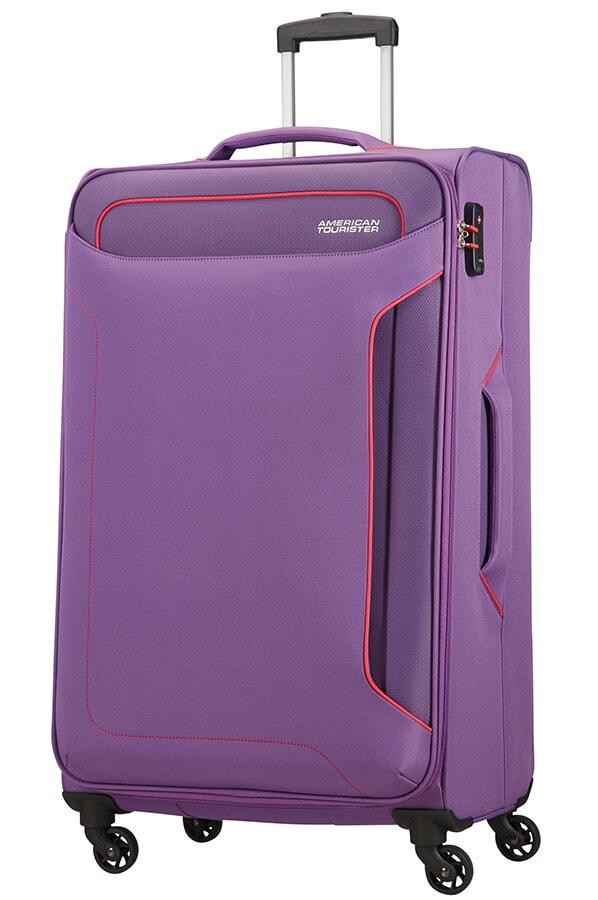 American Tourister Cestovní kufr Holiday Heat Spinner 50G 108 l - fialová