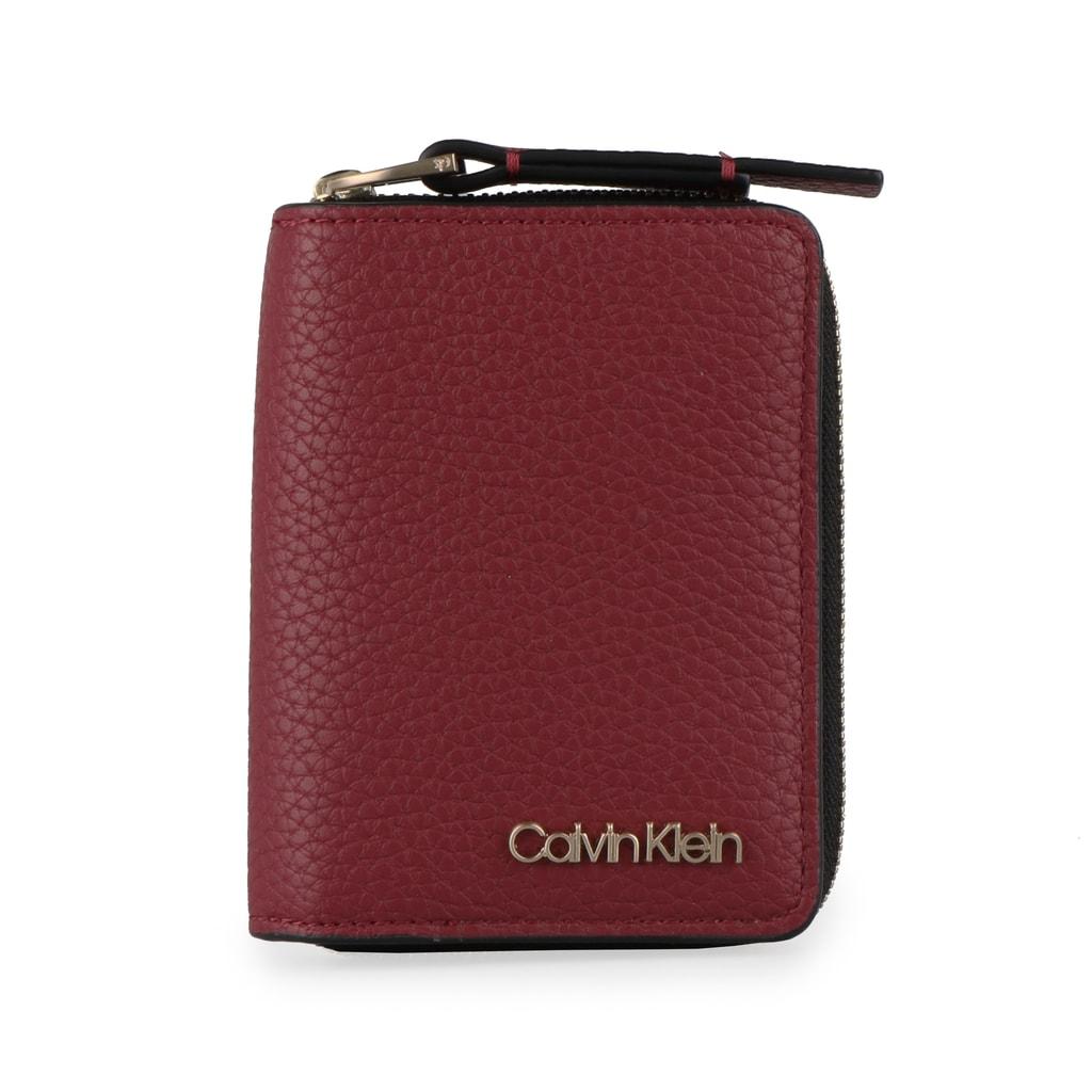 Calvin Klein Dámská peněženka Base Small K60K604610 - vínová