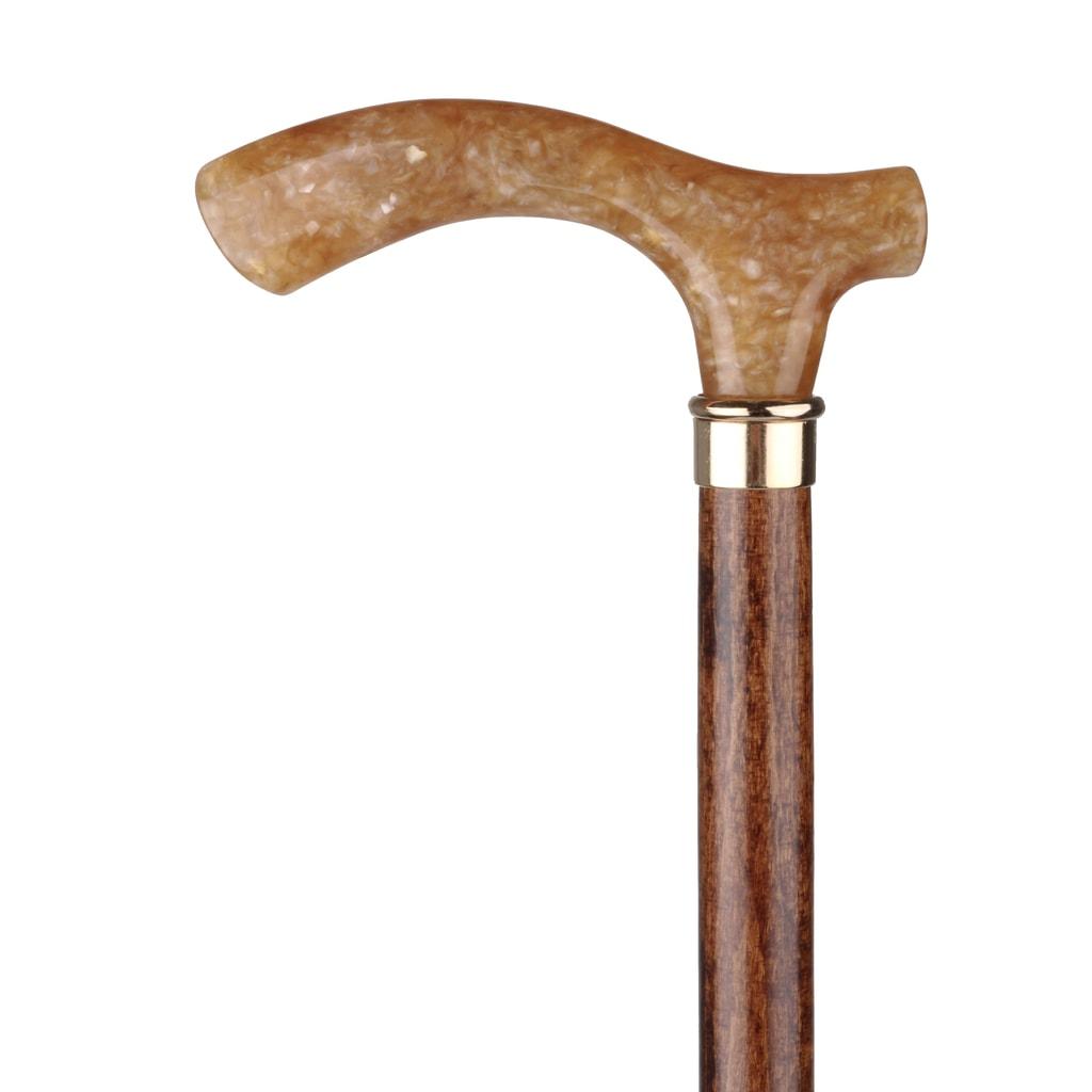 Walking sticks Dřevěná vycházková hůl s plastovou rukojetí 200