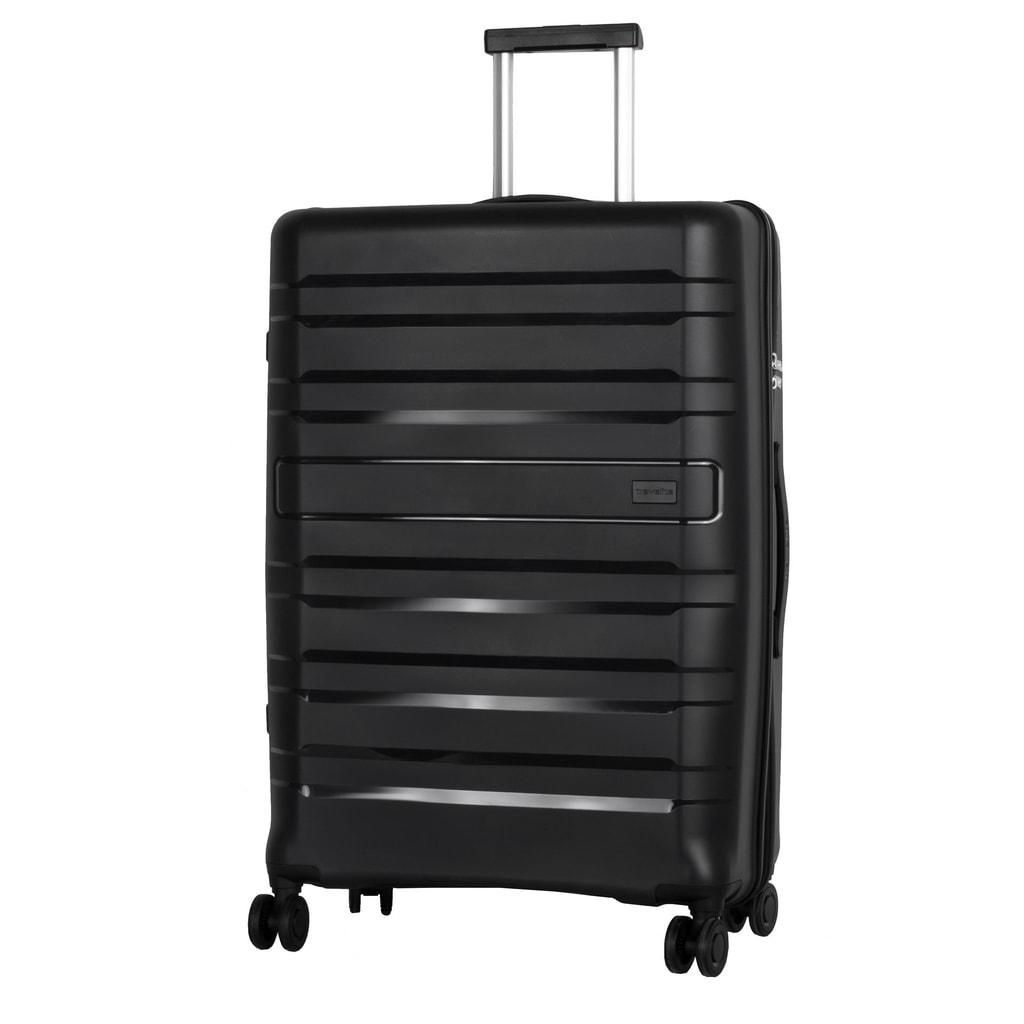 Travelite Cestovní kufr Kosmos 4w L Black 102 l