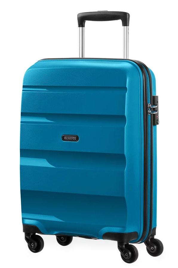 American Tourister Kabinový cestovní kufr Bon Air Spinner 85A 31,5 l - modrá
