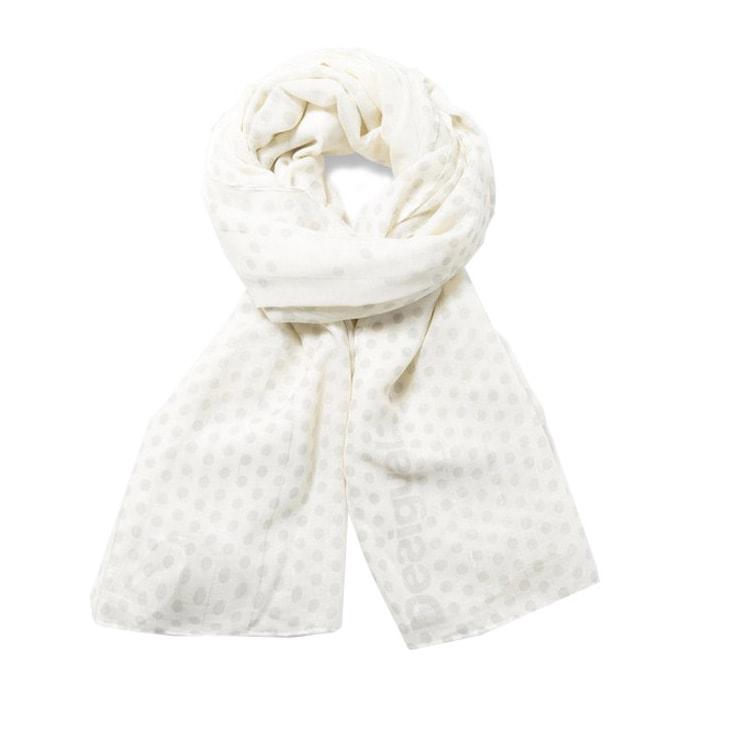 Desigual Desigual šátek rectangle holewood, bílý