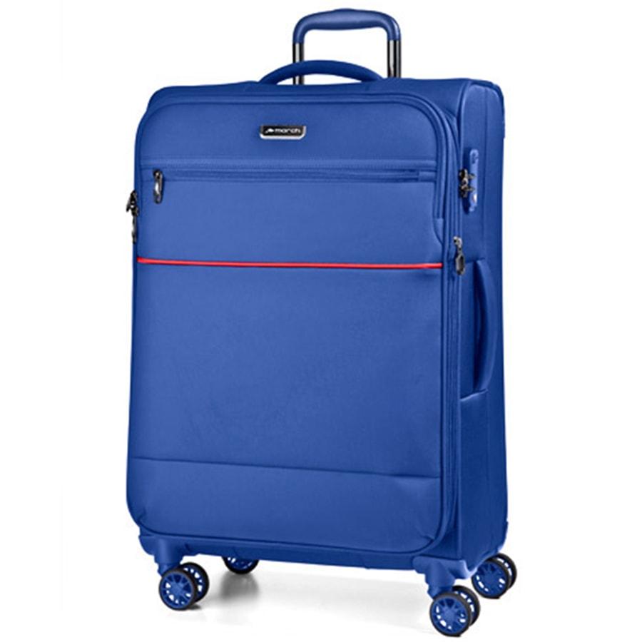 March Velký cestovní kufr Easy 104 l - světle modrá
