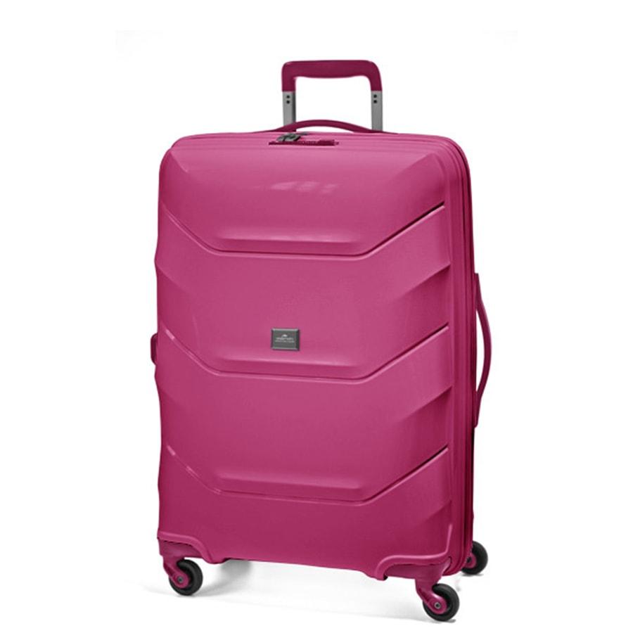 March Střední cestovní kufr Vienna 77 l - růžová
