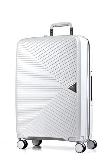 March Cestovní kufr Gotthard 70 l - bílá