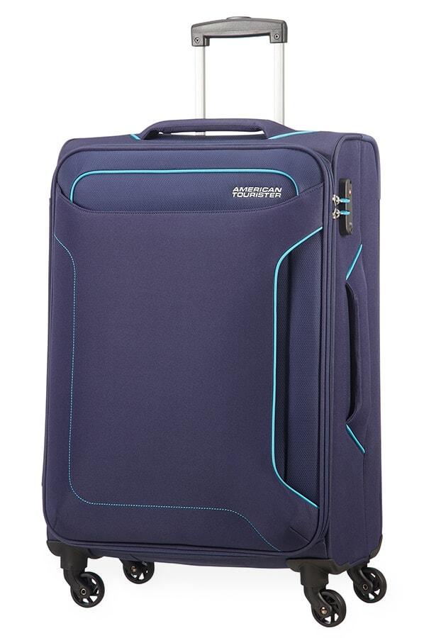 American Tourister Cestovní kufr Holiday Heat Spinner 50G 66 l - tmavě modrá