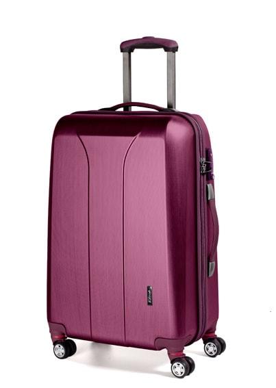 March Velký cestovní kufr New carat 110 l - růžová