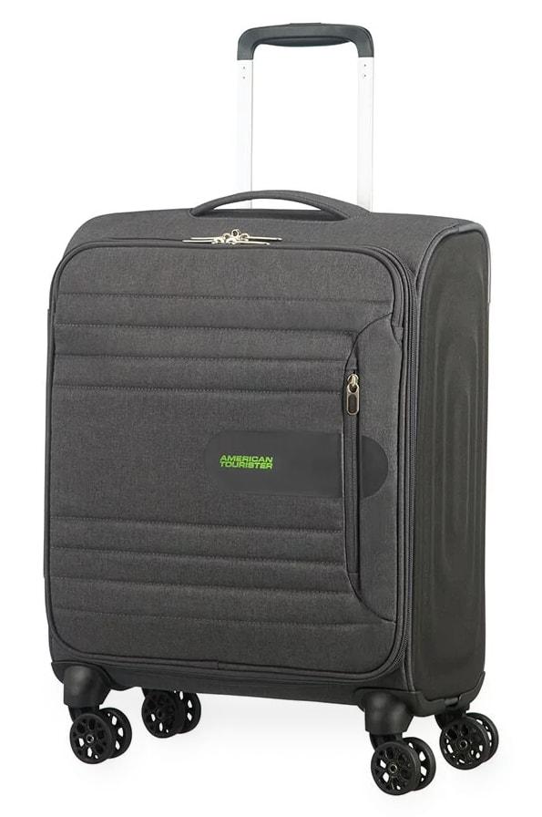 American Tourister Kabinový cestovní kufr Sonicsurfer Spinner 46G 40 l - tmavě šedá