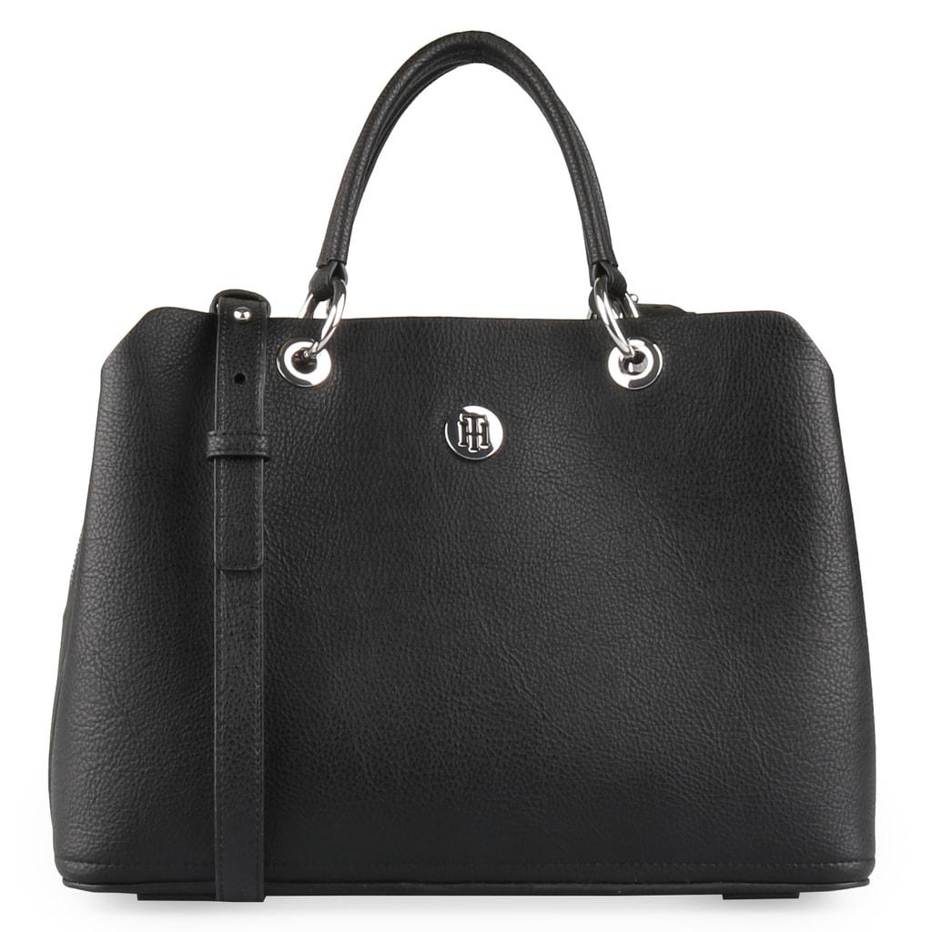 Tommy Hilfiger Dámská kabelka přes rameno TH Core AW0AW05681 - černá