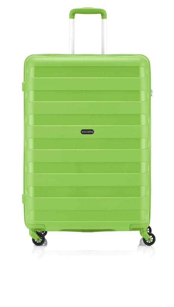 Travelite Cestovní kufr Nova 4w L Light Green 74049-80 99 l