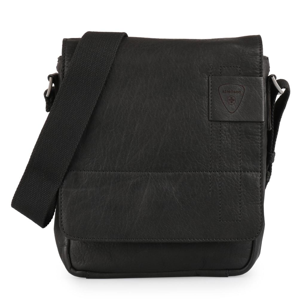 Strellson Pánská kožená taška přes rameno Upminster 4010001926