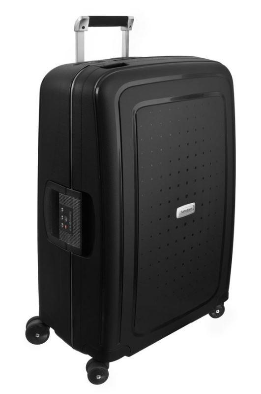 Samsonite Cestovní kufr S'Cure DLX Spinner U44 79 l - tmavě šedá