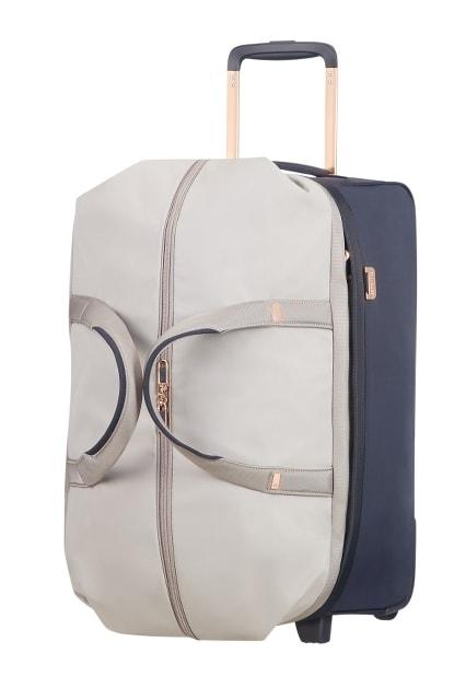Samsonite Kabinová cestovní taška Uplite 99D-012 68,5 l - béžová/modrá