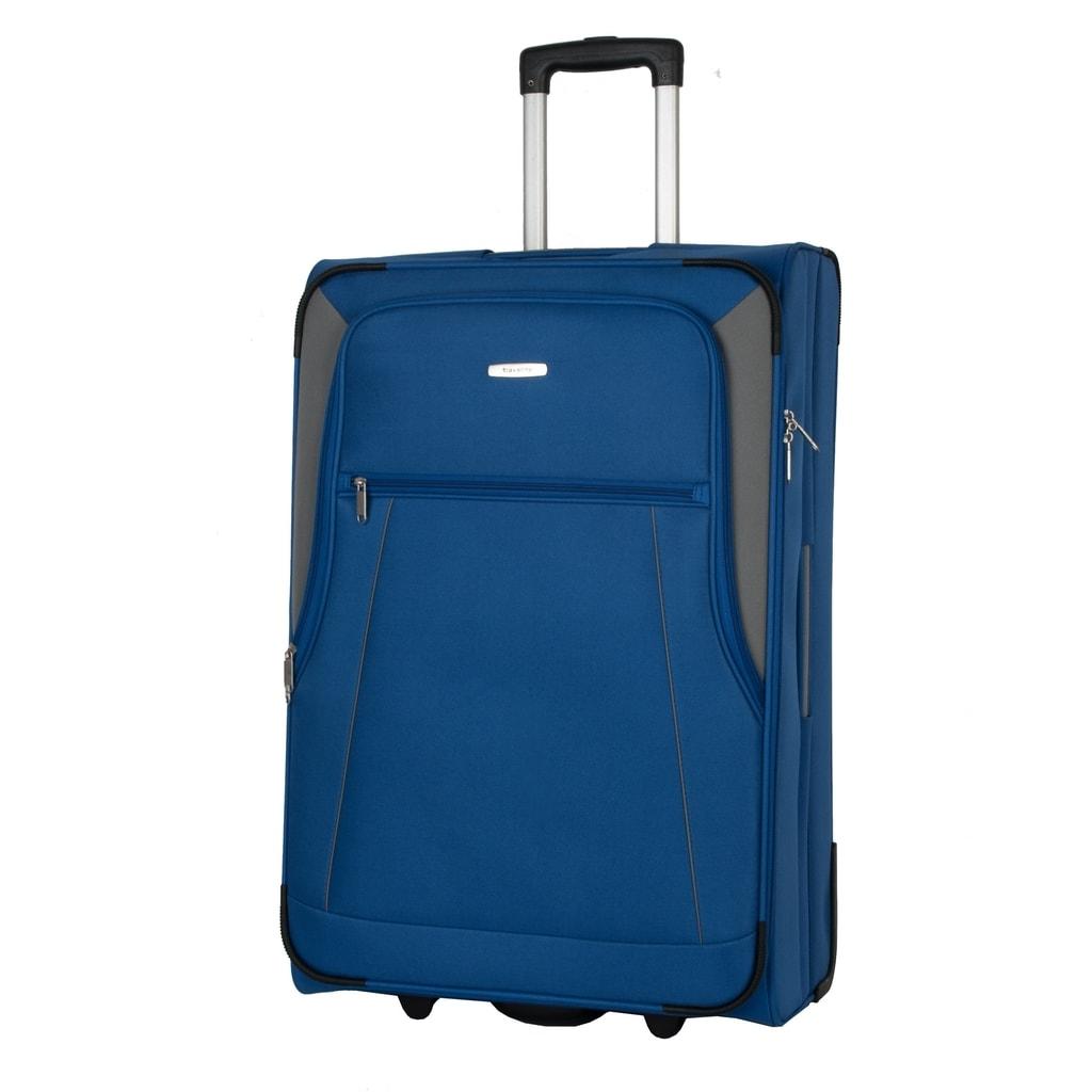 Travelite Velký cestovní kufr Portofino 81 l P38399 modrá