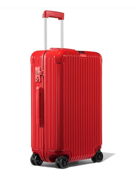 Rimowa Cestovní kufr Essential Check-In M 60 l - lesklá červená