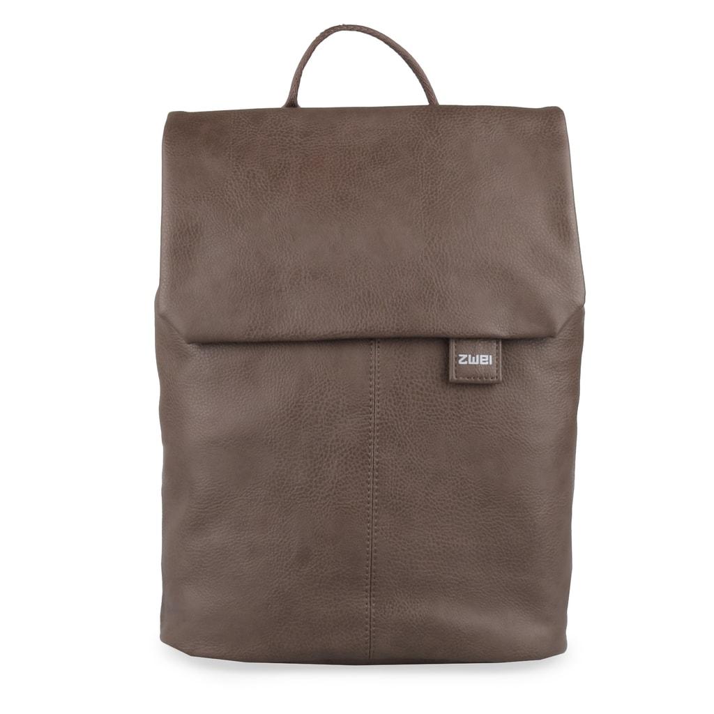 Zwei Dámský batoh Mademoiselle MR13 - tmavě hnědý