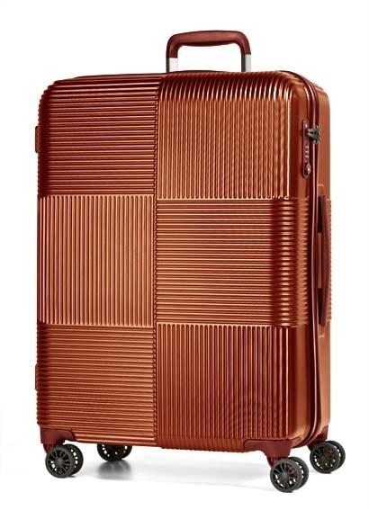 March Cestovní kufr Avenue 112 l - oranžová
