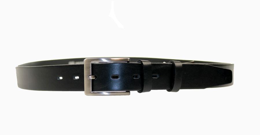 Penny Belts Pánský kožený pásek 35/100/4, černý