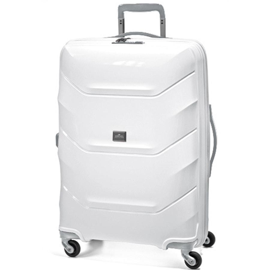 March Velký cestovní kufr Vienna 113 l - bílá