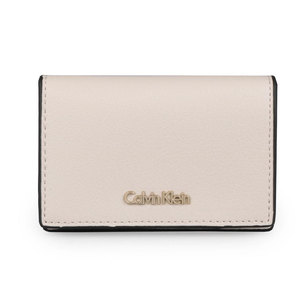 Calvin Klein Pouzdo na karty Frame K60K603931 - béžová
