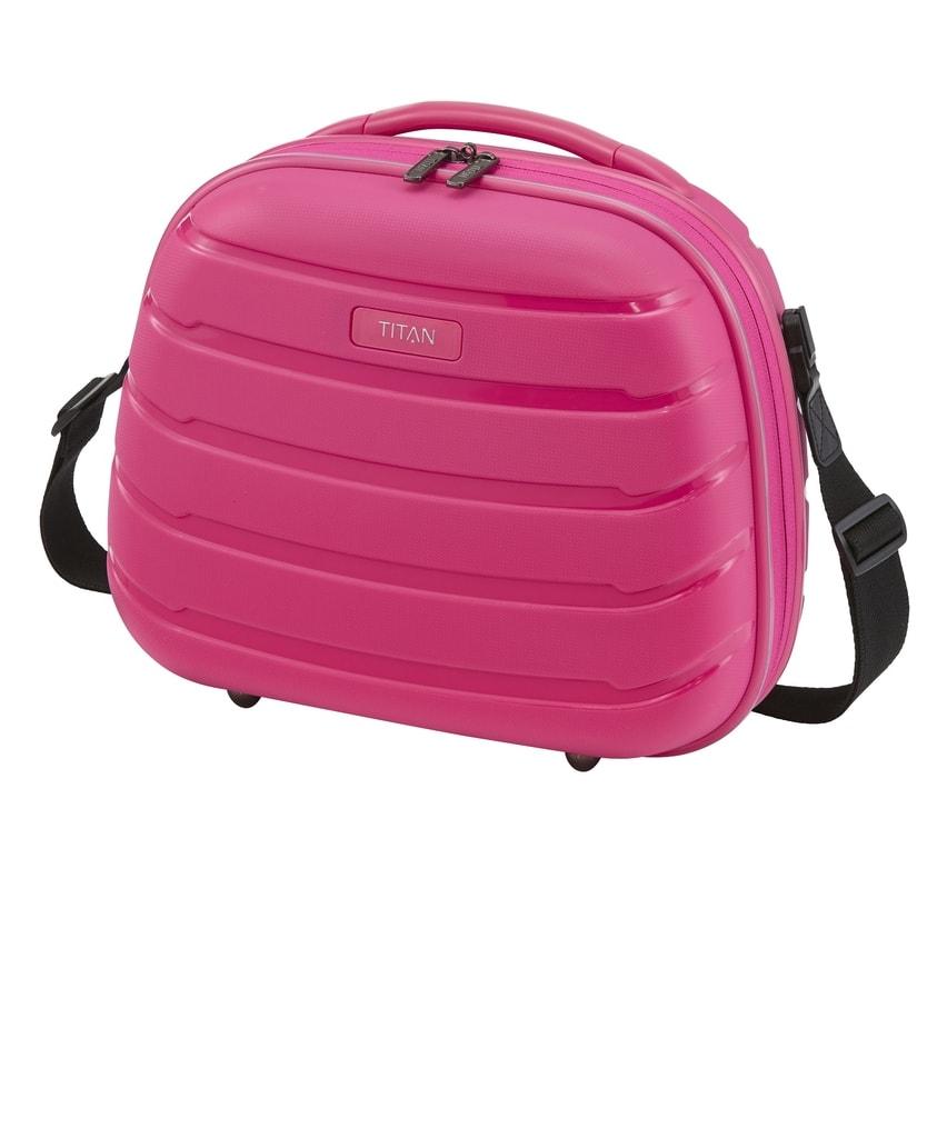 Titan Kosmetický kufřík Limit Beauty Case Hot Pink