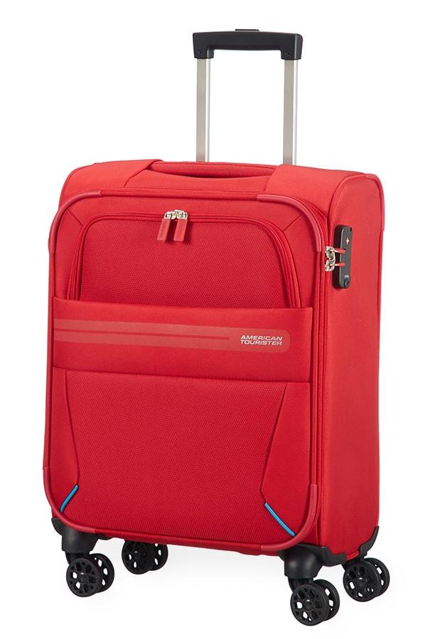 American Tourister Kabinový cestovní kufr Summer Voyager Spinner 29G 36 l - červená