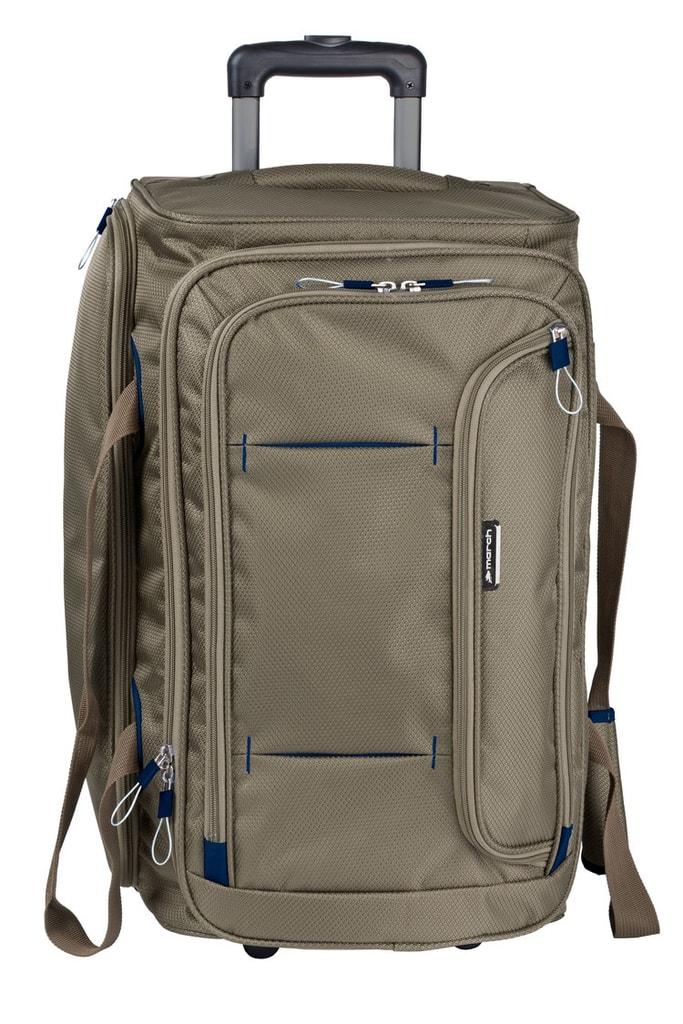 March Cestovní taška Gogobag 102 l - hnědá