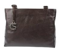 Dámská kabelka 1083-40 tmavě hnědá