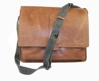 Pánská kožená taška Epping Strellson 4010002210 světle hnědá