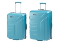 Travelite Vector 2w M,L Turquoise – sada 2 kufrů