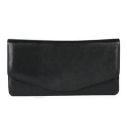 Dámska kožená listová kabelka 1008013 čierna. Hajn 7e02488131d