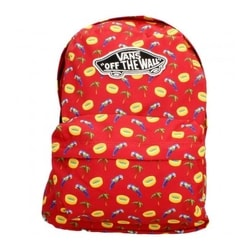 WM W REALM BACKPACK RACING RED - MESTSKÉ BATOHY
