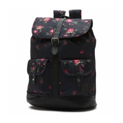 W LEAN IN BACKPACK FLORAL BLAC - MESTSKÉ BATOHY