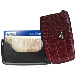 Card Case, Leather Line, Tru Virtu