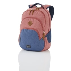 TRAVELITE, BATOH BASICS BACKPACK MELANGE RED/NAVY - BATOHY NA NOTEBOOK