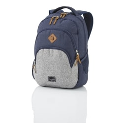 TRAVELITE, TRAVELITE BASICS BACKPACK MELANGE NAVY/GREY - BATOHY NA NOTEBOOK