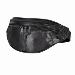 TRAVELITE, KOŽENÁ LEDVINKA  LEATHER WAIST BAG 1099-02 - ĽADVINKY